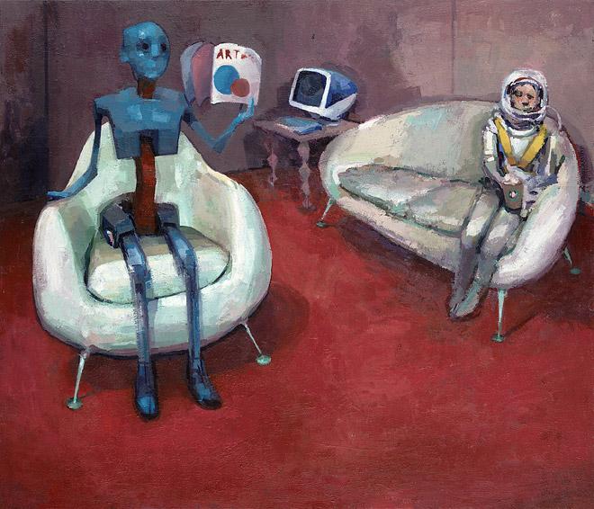 Astronaut & Robot