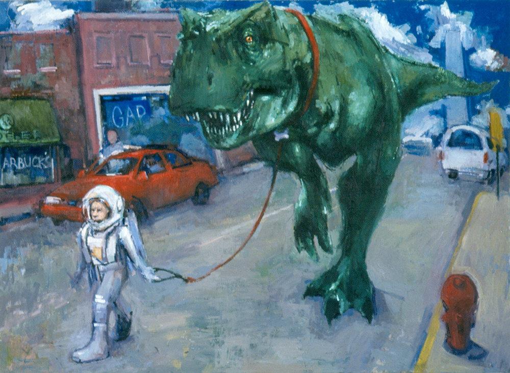 Astronaut & Dinosaur