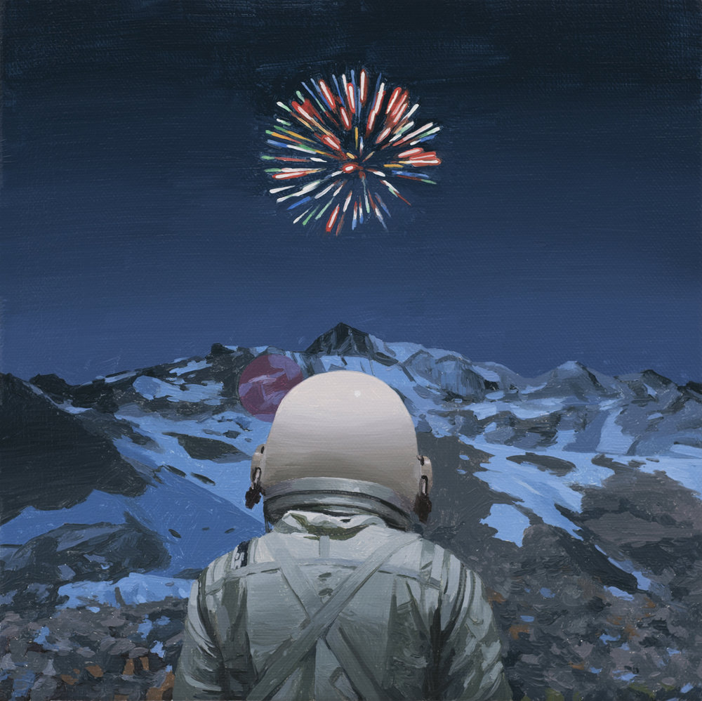 Mountain Fireworks