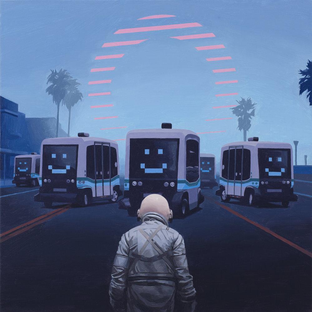 Self Driving Buses