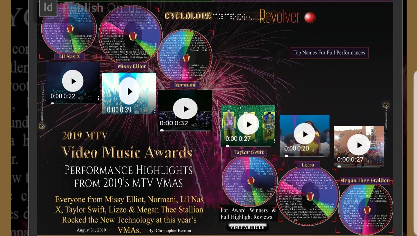 2019's MTV VMA's Performance Highlights and Award Winners