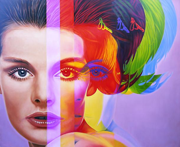 "Photo Credit: ""Spectrum"" (1998) by Richard Phillips"