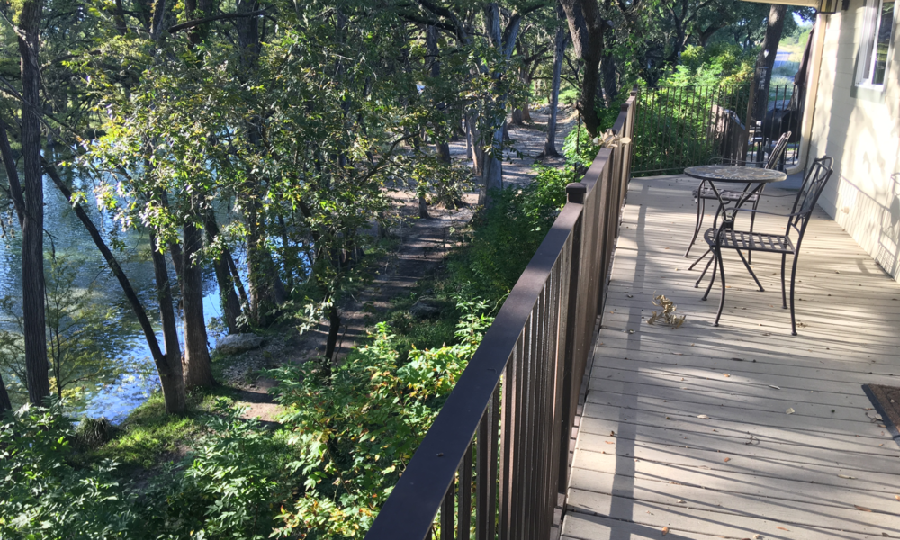 Nueces Cabin - Balcony View