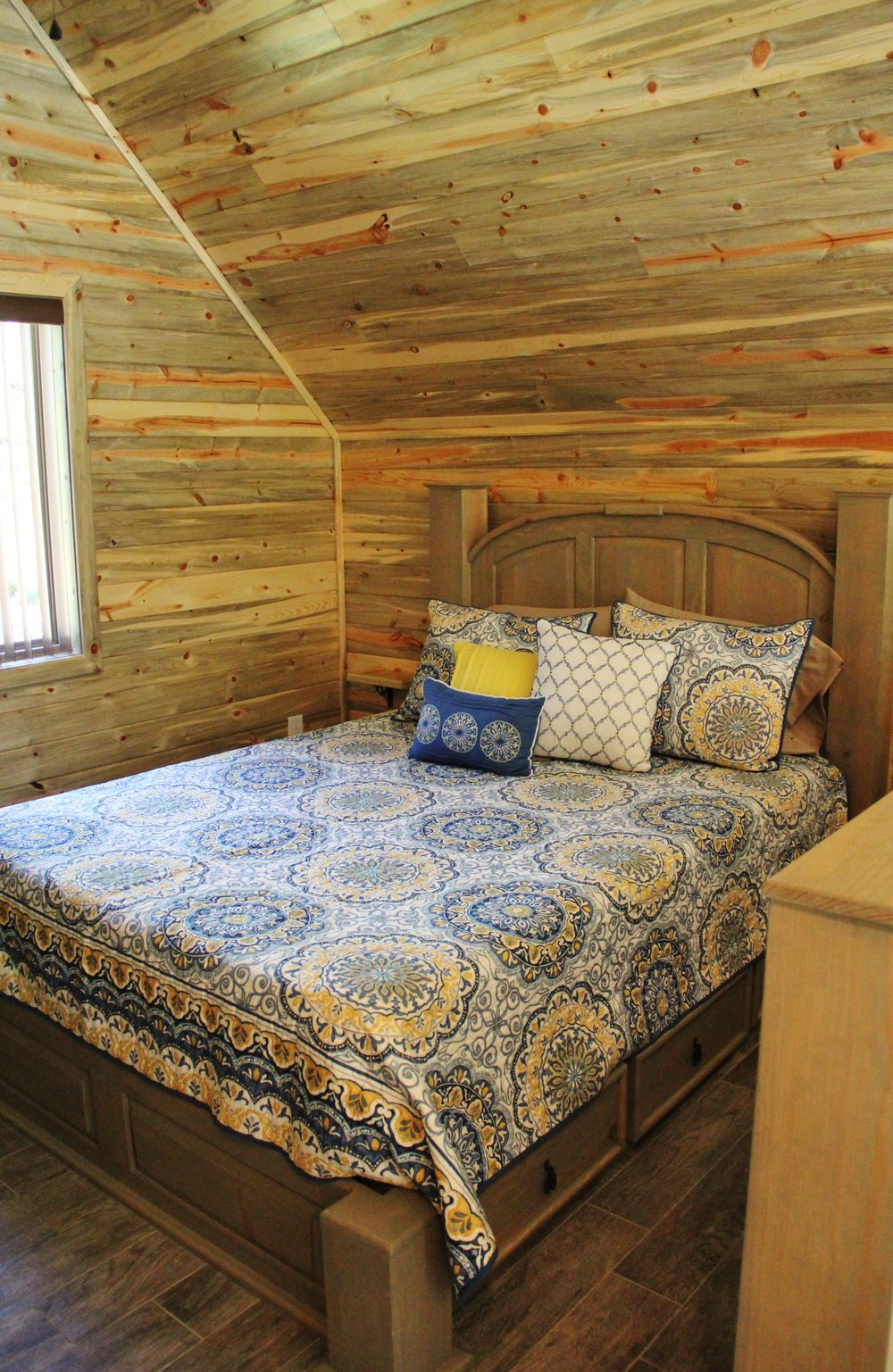 Blanco Cabin - Loft Bedroom