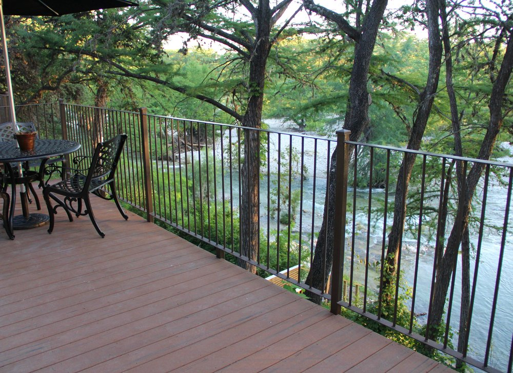 Pecos Cabin - Balcony View