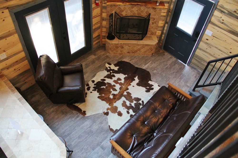 Medina Cabin - Living Area