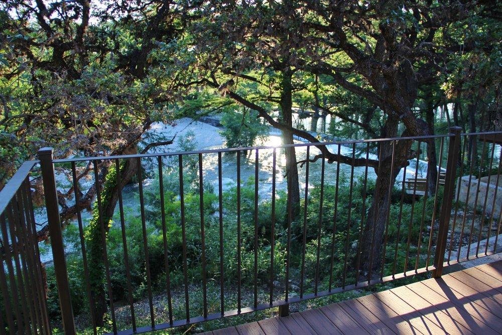 Medina Cabin | Balcony View