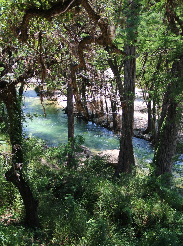 Llano Cabin - Balcony View