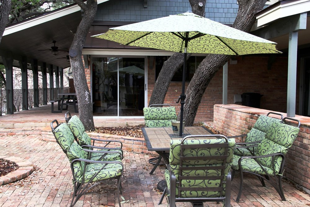 Outdoor Covered Patio on the Frio