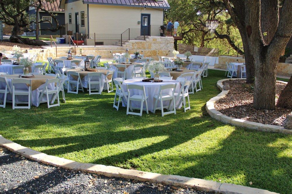 Wedding Reception Areas