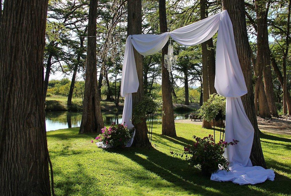 Wedding Day Altar Rental