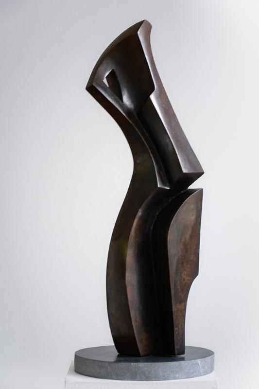 Fantasma - Bronze, Pierre bleue50 x 20 x 20cm2014-2016