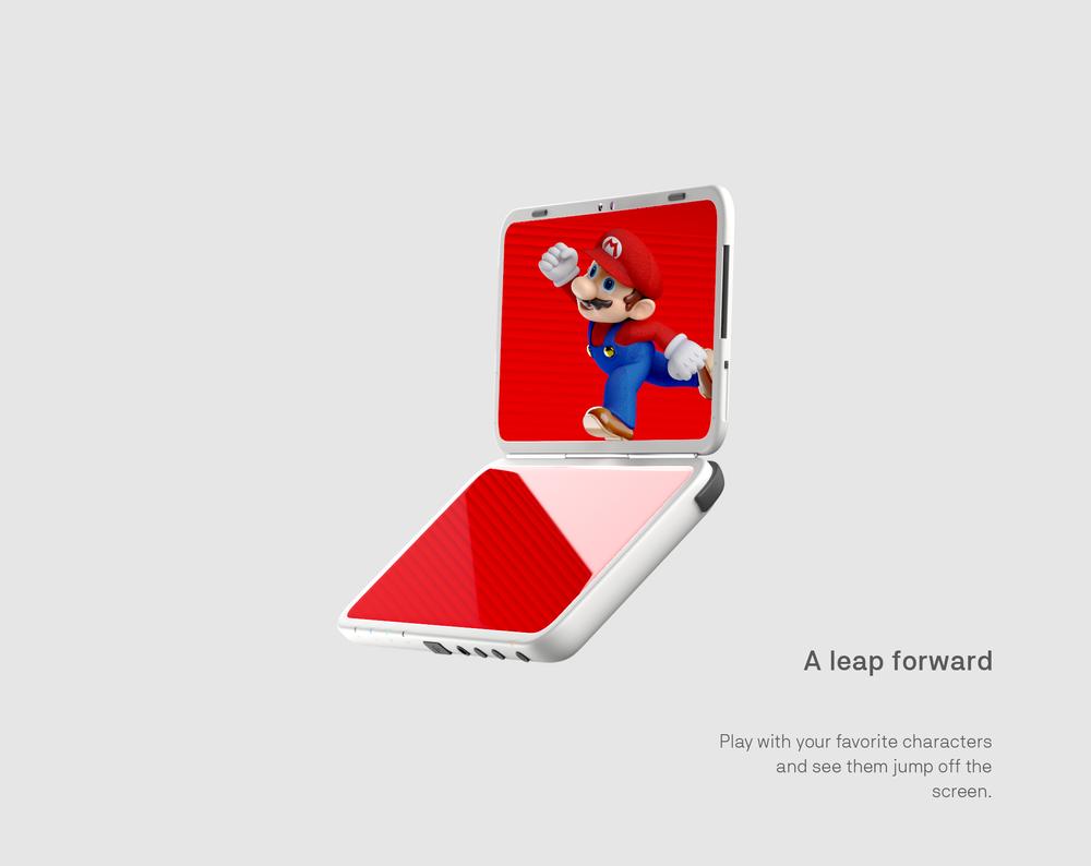 Newnew Nintendo 3Ds XXL - Behance_10 Mario.png