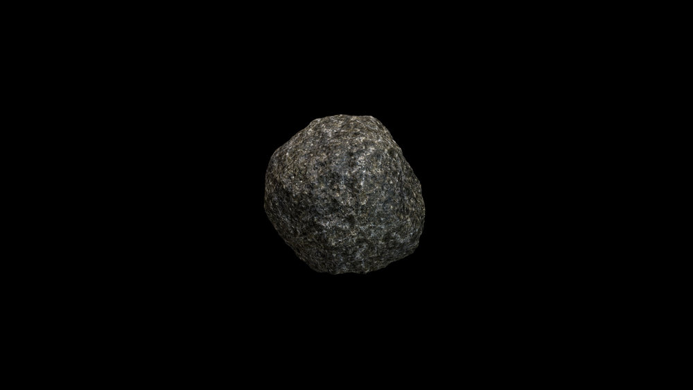 Lianne Zannier.  Slow Rocks . 2018. Animation still.