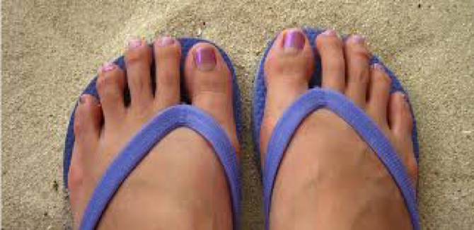 Are flip flops your goto summer shoe?