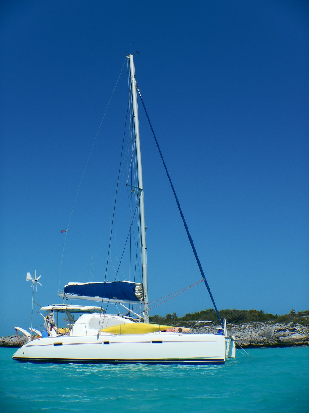 Mystique at Hawksbill Cay
