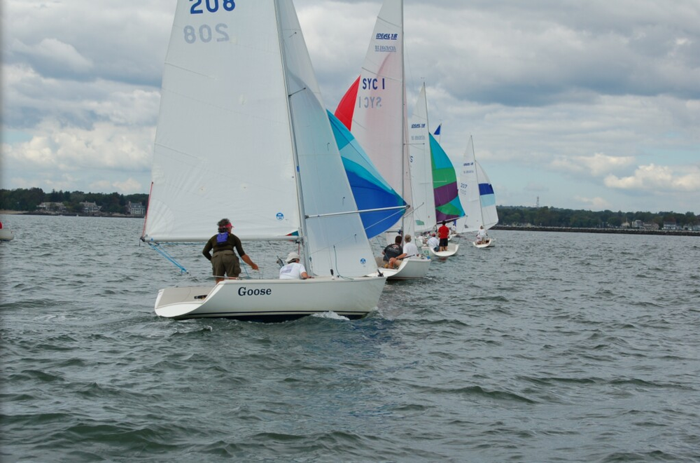 Racing Goose in the Ideal 18 North Americans - Stamford, CT (2006)