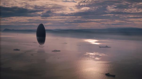 Alien ship from  Arrival