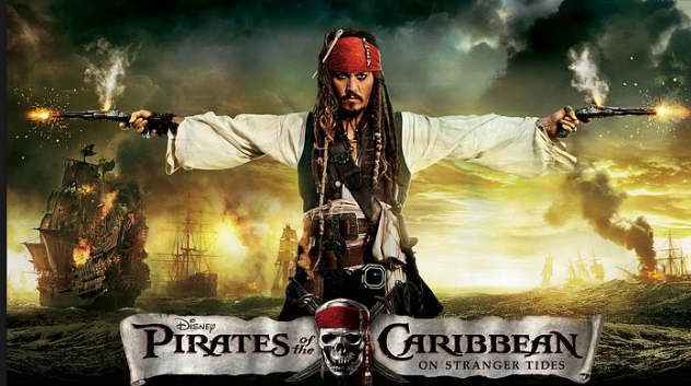 Jack of all trades and master of one or two?  -  Johnny Depp  as  Jack Sparrow