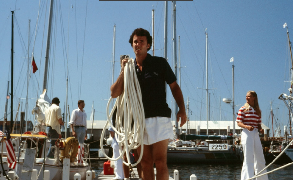 On the Newport docks in 1978 bringing a hose to  Prim , I was readying myself for a race to Bermuda. It felt so different from the time I was getting ready  to ride  Reindeer  two years earlier.     Racing Prim to Bermuda: