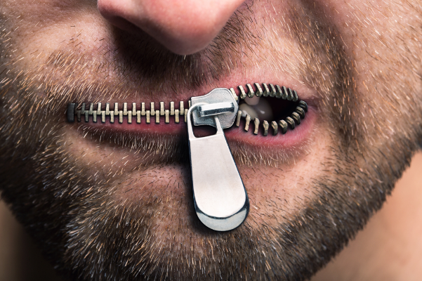 Sometimes zipping it up is a   more effective form of communication.  Complaining often falls on deaf ears.