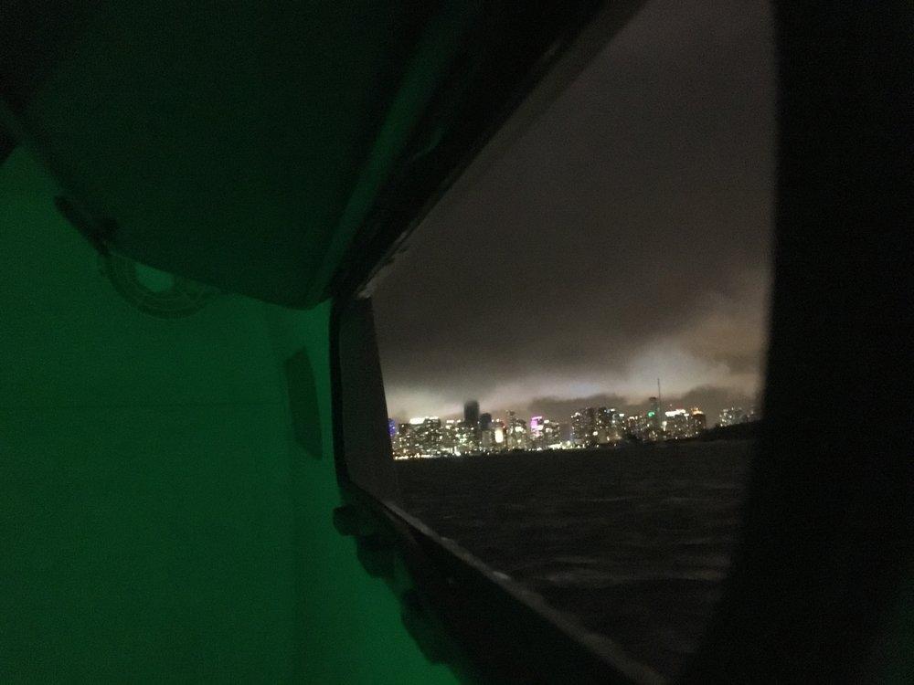 Night Sky over Miami
