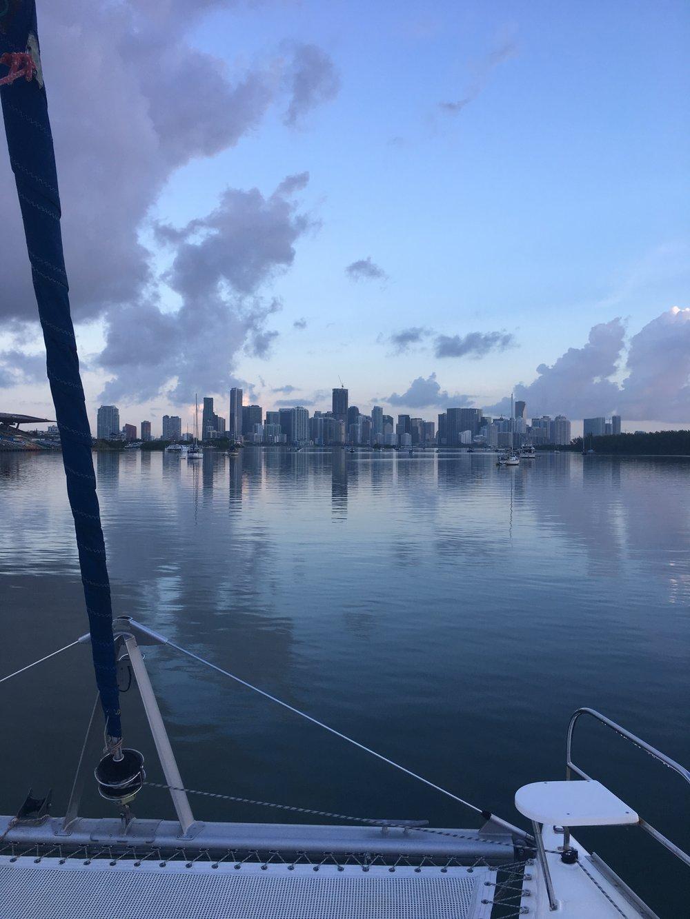 Miami at dawn