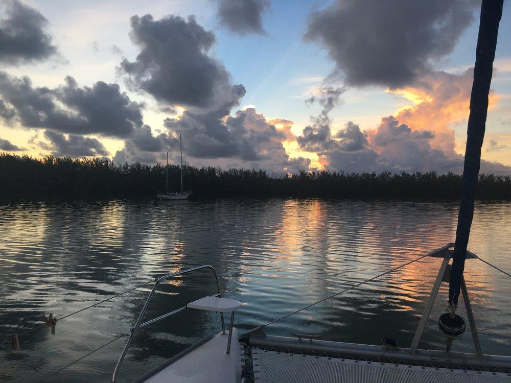 Marine Stadium sunrise