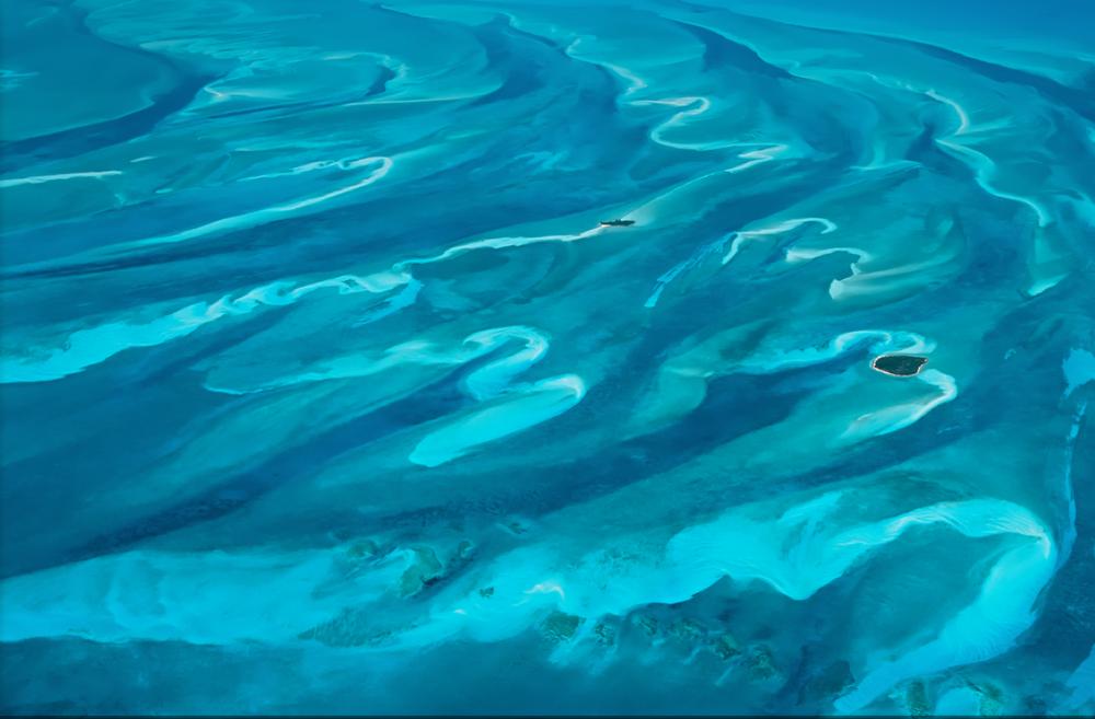 A Bahamian aerial view