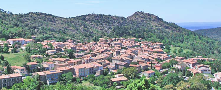 On our first full exploration day, we drove up a nearby mountain near St. Croix to view Le Garde Freinet - a medieval village at one time guarding Provence in the 12th century.
