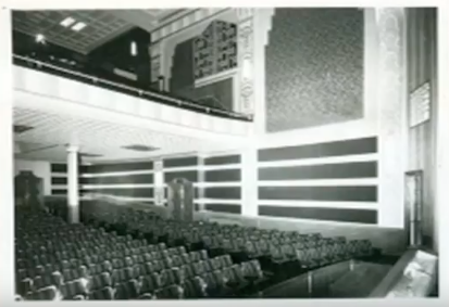 How the Avalon looked from the stage in the early 1960's.