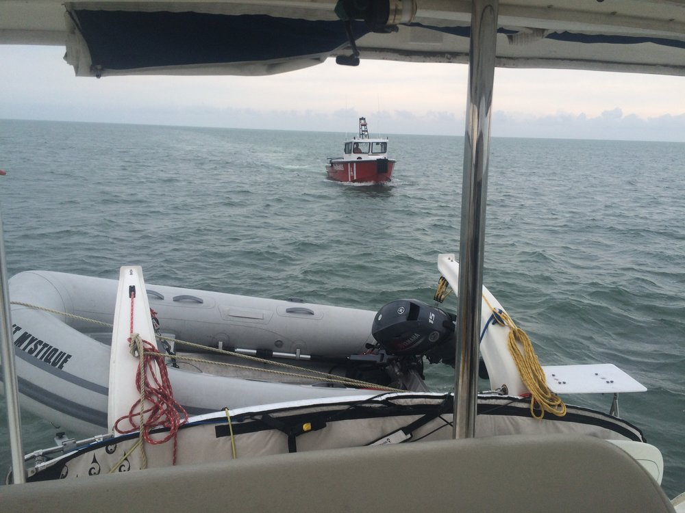 When I ran aground east of Key Largo, TowboatUS came to my rescue.