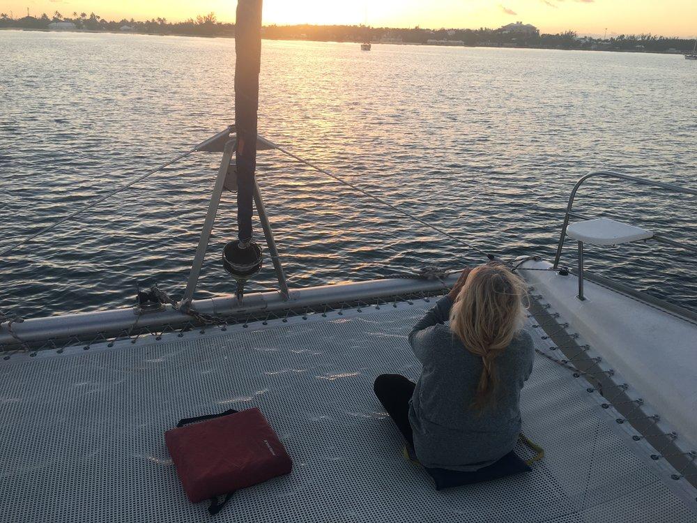 Sunrise at Ship Channel, North Exumas.
