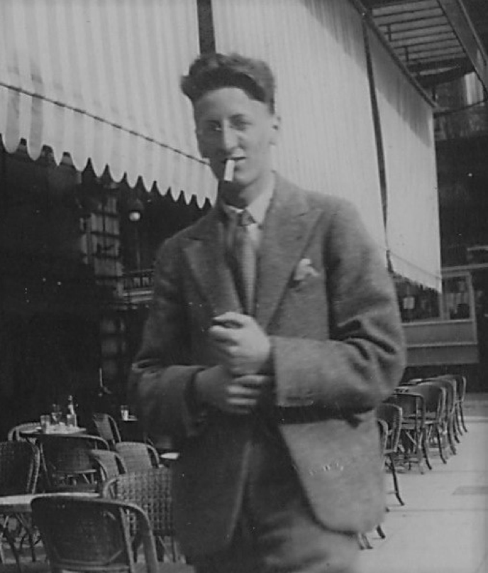 Lt. Col. Henry Ernest Cross when he was simply 'Harry'.