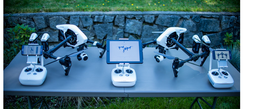 UAV/Drones for aerial video and photography