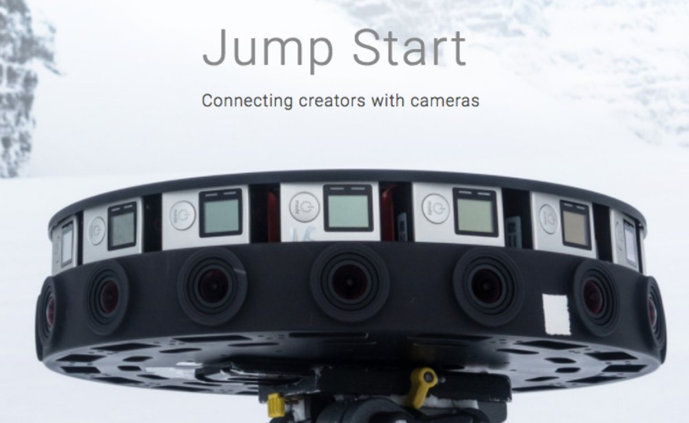 Google Jump rig featuring the GoPro Odyssey camera