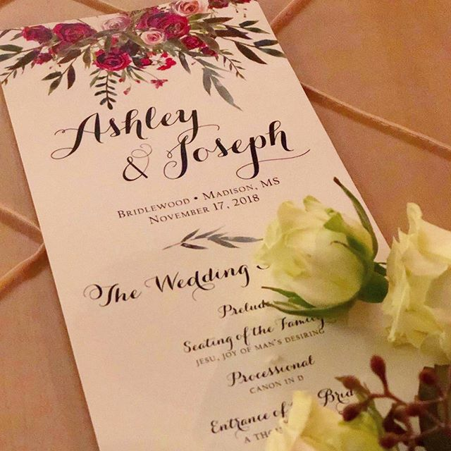 Posh Design Shoppe has the vision to give you just what you need for your wedding programs, invitations, and literally just about anything you can imagine. We have known Rachel Curtis and her team for a long time now, and we're confident in saying she will travel to the moon to help you create your perfect day.