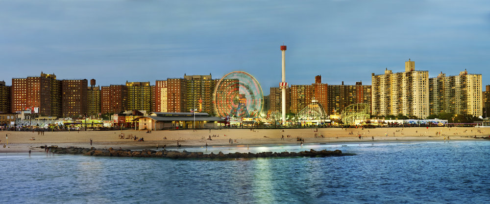 Jeff Liao,  Coney Island from Steeplechase Pier , 2011