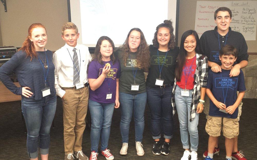 Youth Power Indiana representatives