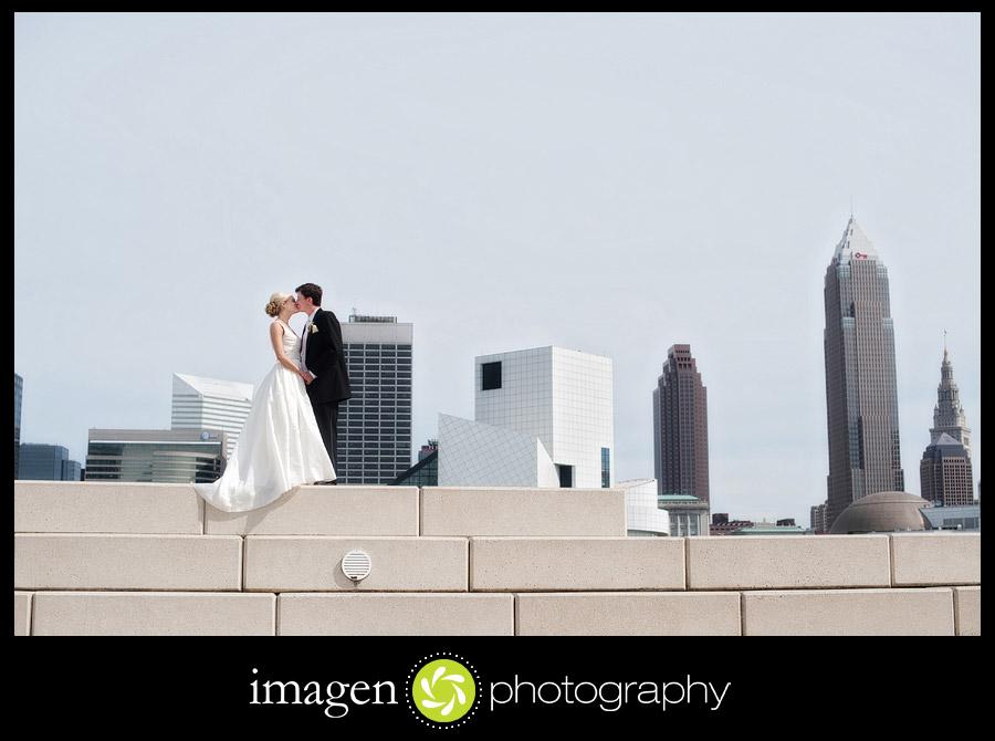Voinovich Park Cleveland Ohio Wedding Photography