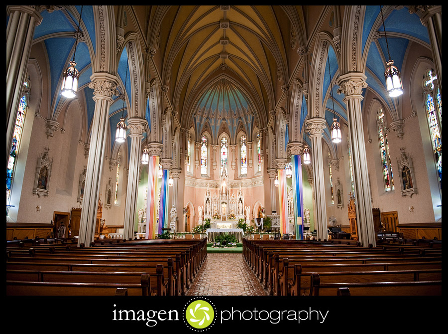 St. Patricks Church Cleveland Ohio Wedding