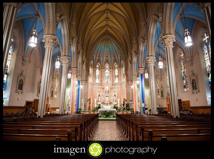 St. Patricks Church Cleveland Ohio Wedding