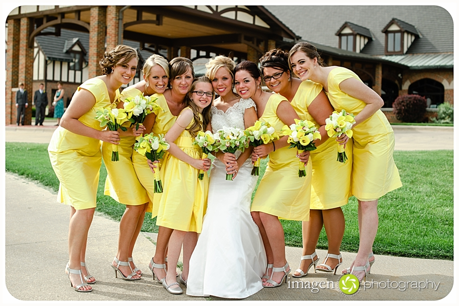 Roses Run Stow Ohio, Cleveland Wedding Photography, Bridal Party