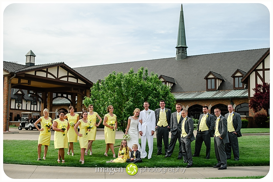 Roses Run Stow Ohio, Cleveland Wedding Photography, Bridal Party Photo