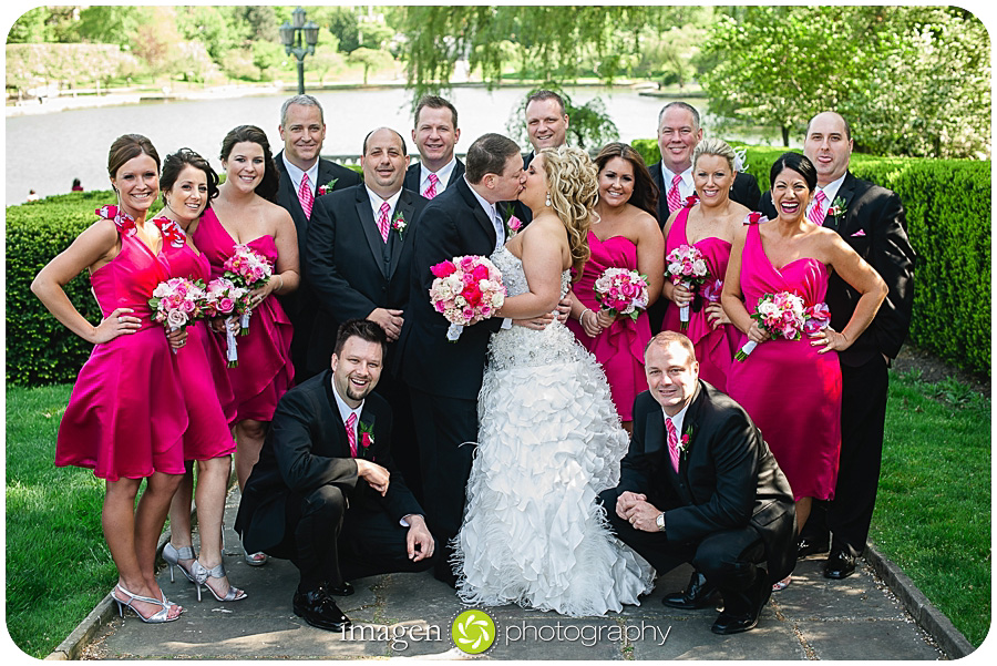 St. John Cathedral Wedding, Wedding Photography, Bridal Party Shot