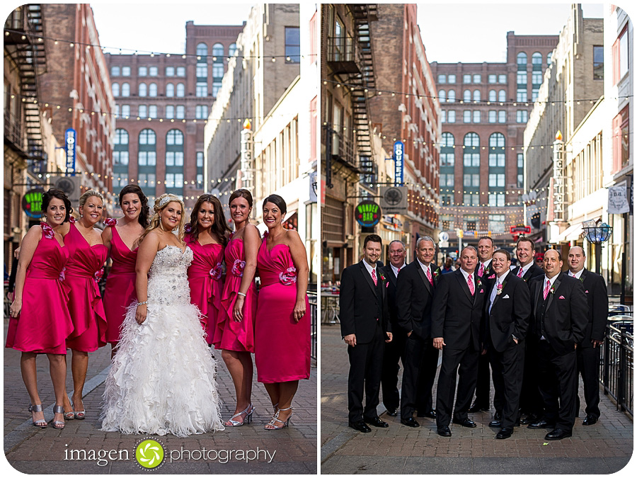 St. John Cathedral Wedding, Wedding Photography, Bridal Party Shots