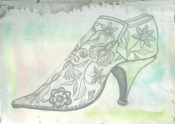 Jane Austen Style Shoe Design