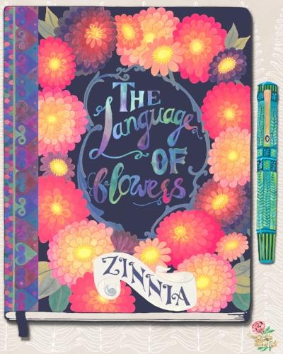 Zinnia.Journal.with.Pen.Susie.Batsford