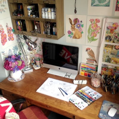 Susie Batsford Art Studio