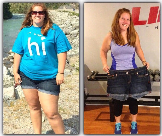 Amber has lost an astonishing 90 lbs!! This girls story is amazing!